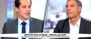 """Attentat de Nice : """"Sarkozy a une immense responsabilité dans ces morts"""", juge Nicolas Bay (FN)"""