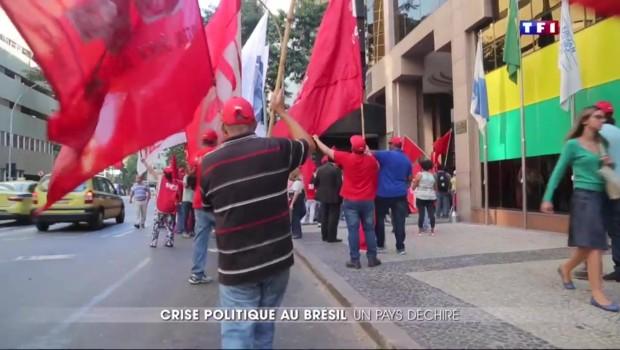 Destitution de Dilma Rousseff : pour ou contre, les Brésiliens se déchirent