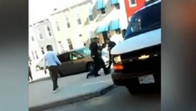 Etats-Unis : arrestation de Freddie Gray à Baltimore, le 12/4/15