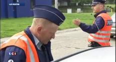 Grève des PV chez les policiers belges