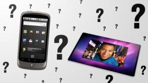 Sur Gizmodo.com, des images du Google Phone et l'idée de Rodolphe Desmare pour la tablette d'Apple.