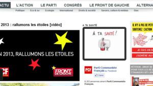 Sur son site, le PCF a fait ses voeux à François Hollande.