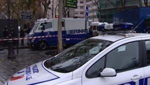 Un fourgon de la Brink's après une attaque (archive)