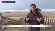 "Vents violents : ""Cinq à six mètres de vagues vont venir frapper la côte"""