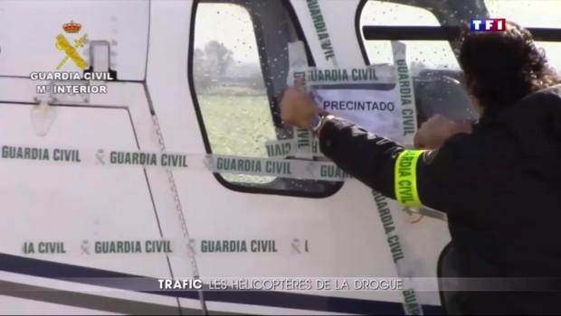 Du Maroc à l'Espagne, l'hélicoptère nouveau mode de transport des trafiquants de haschisch
