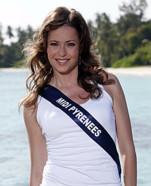 Miss Midi Pyrenees 2010 -Alison Martin - Election candidate Miss France 2011- © SIPA - Interdit à toute reproduction, téléchargement ou stockage