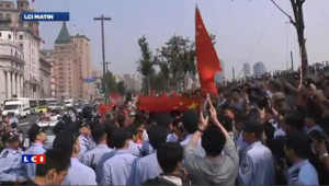 VIDEO : manifestation antijaponaise en Chine