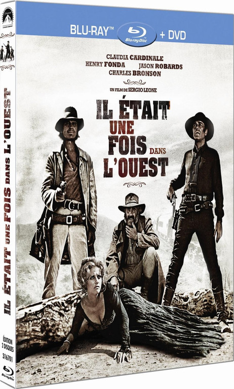 Visuel Blu-ray Il était une fois dans l'Ouest de Sergio Leone