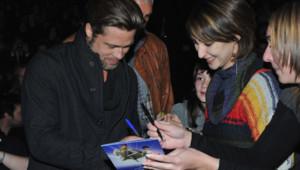 Angelina Jolie Brad Pitt - Avant-première Megamind à Paris