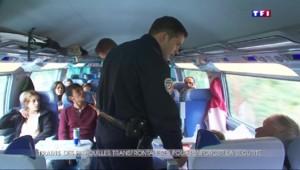 Après l'attentat déjoué du Thalys, la sécurité s'organise à bord des trains