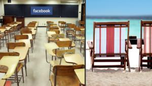 Facebook groupe éducation lycéens vacances