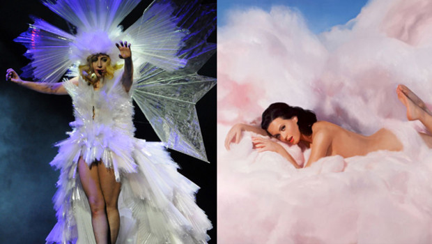 Lady Gaga et Katy Perry