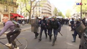 Manifestations violentes : les forces de l'ordre en colère