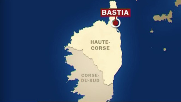 TF1 / LCI Carte de la Corse