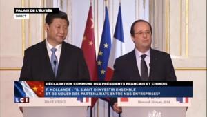 50 accords de coopération signés entre la France et la Chine pour 18 milliards d'euros