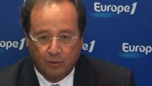 François Hollande Europe 1