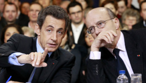 Nicolas Sarkozy et Alain Juppé, 22/2/2011