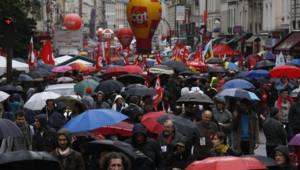 Syndicats le 1er mai à Paris