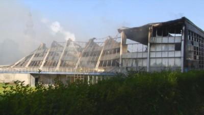 Une piscine de Valenciennes est parti en fumée, mercredi 17 septembre.