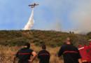 Incendie Corse feu flammes canadair