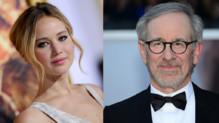 Jennifer Lawrence et Steven Spielberg