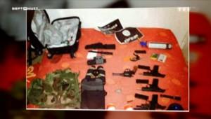 Les images de la planque et des armes de Coulibaly