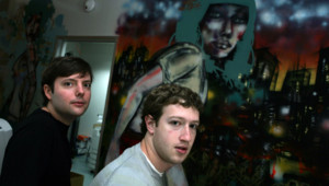 Mark Zuckerberg et Matt Cohler, à Palo Alto