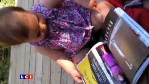 Si sa fille d'un an se débrouille comme une chef sur une tablette numérique, elle ne comprend pas pourquoi les pages de magazine ne s'agrandissent pas !