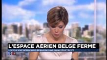 Belgique : l'espace aérien fermé