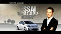 Essai : Toyota Auris hybride