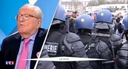 """Général arrêté à Calais : """"Ma sympathie va à l'ancien légionnaire"""" déclare Jean-Marie Le Pen"""