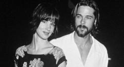 Juliette lewis et Brad Pitt à l'époque de leur amour. Elle avait 17 ans, lui 27.