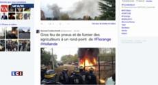 Les agriculteurs attendaient Hollande à Florange