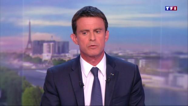 """Manuel Valls : """"Nous sommes dans une espèce de guerre mondiale"""""""