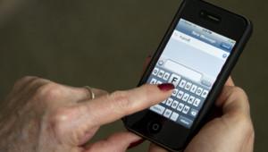 Téléphone portable le 9 mai 2012.
