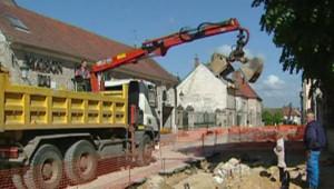 TF1/LCI : BTP : chantier de construction d'une maison