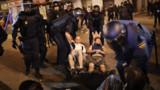"""Les """"indignés"""" de Madrid chassés de la Puerta del Sol"""