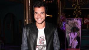 Amir Haddad à la première du spectacle Love Circus le 28 octobre 2014 à Paris.