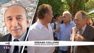"""Décès de Michel Rocard : """"Un homme politique d'exception"""" pour Gérard Collomb, maire de Lyon"""