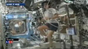 Le marathon de Malibu depuis l'espace !