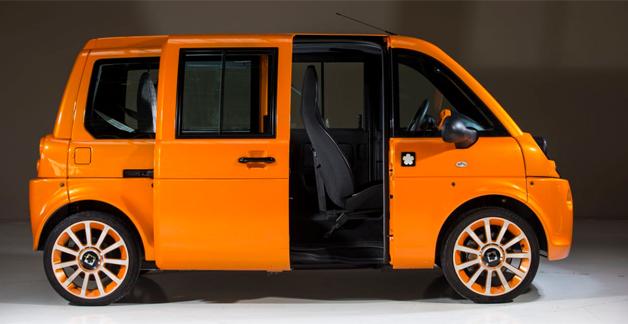 news automoto mia cadabra la voiture lectrique qui se personnalise mytf1. Black Bedroom Furniture Sets. Home Design Ideas