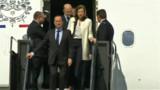 Hollande à la Maison Blanche pour une 1ère rencontre avec Obama