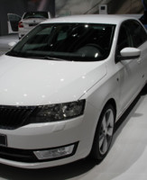 Skoda Rapid Mondial Auto 2012
