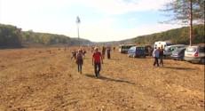 Le 20 heures du 25 octobre 2014 : Tarn : la mobilisation continue contre la construction du barrage de Sivens - 345.30813919067384