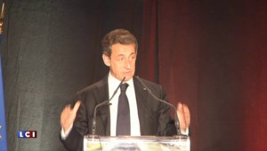 "Sarkozy raille Hollande en l'appelant ""moi je"""
