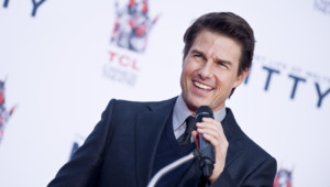 Tom Cruise à Los Angeles le 3 décembre 2013