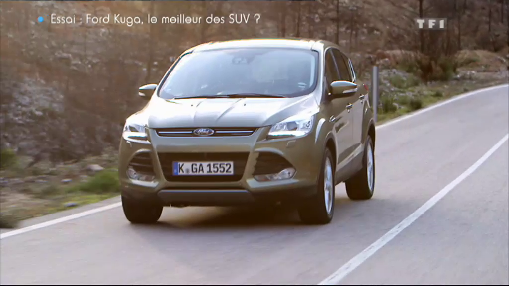 vid o automoto essai vid o le nouveau ford kuga 2013 mytf1. Black Bedroom Furniture Sets. Home Design Ideas