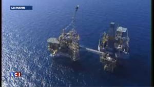 Importante fuite de gaz sur une plateforme de Total