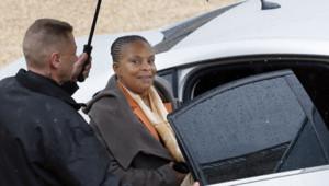 La ministre de la Justice Christiane Taubira le mercredi 30 janvier 2013