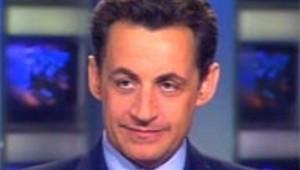 Nicolas Sarkozy au 20h de TF1